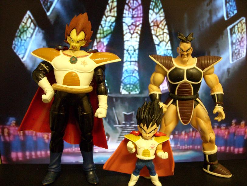 Pics For > Kid Bardock And Kid King Vegeta
